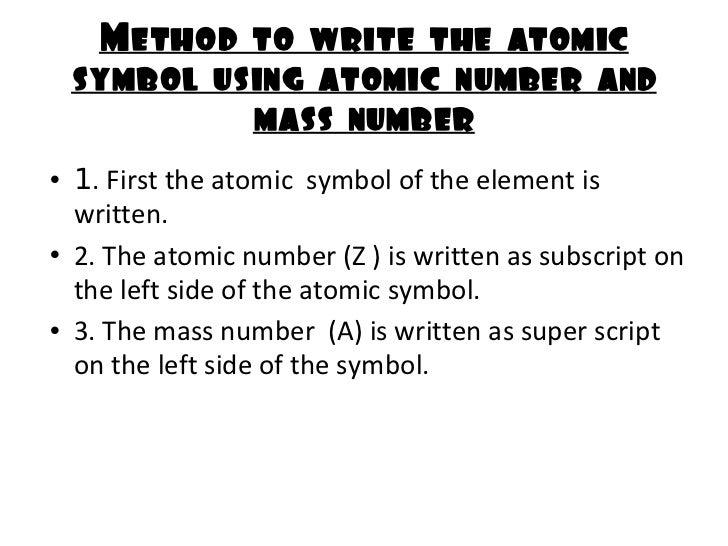 Structure Of Atom Igcse