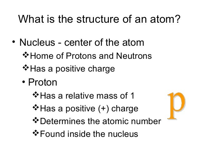 Structure of atom ppt 12 what is the structure of an atom ccuart Gallery