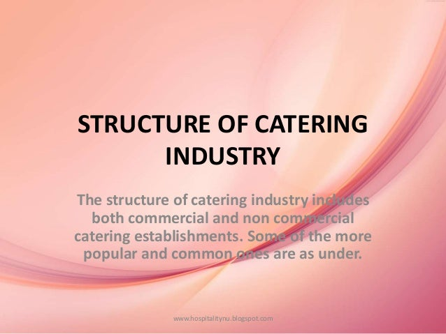 role of catering establishment in the travel tourism industry Millennials play a major role in the hospitality and tourism industry this is a savvy group that want better value when they travel and expect premium services their customer service demands are high and recognizing and responding to those demands will help create a stronger foothold with the catering market.