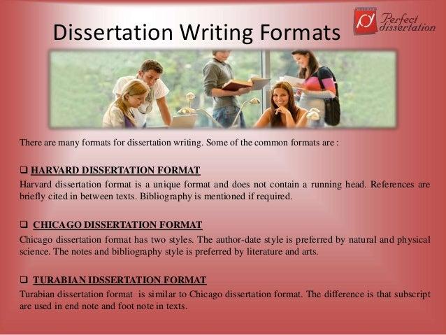 Harvard style of writing dissertation