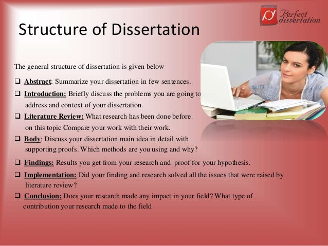 dissertation introduction structure How to structure a dissertation   the structure of the dissertation should contain basic elements like the title page, abstract, introduction,.