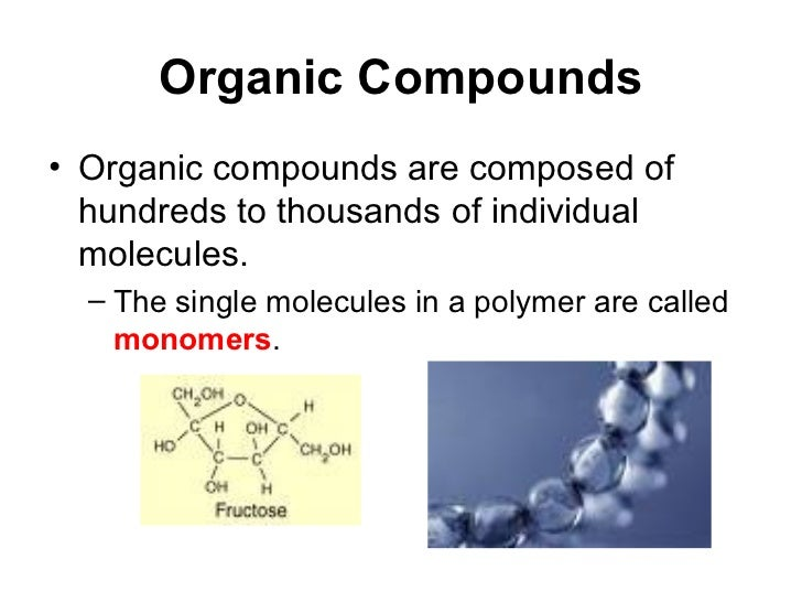 Structure Of Organic Compounds