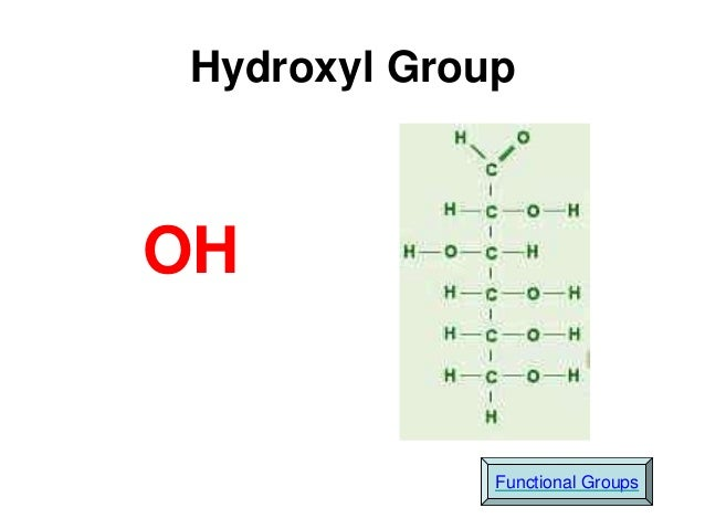 the chemistry of hydroxyl group Alcohols alcohol – any organic compound containing a hydroxyl but if any other reactive groups are present they will also similar to the chemistry of alcohols.