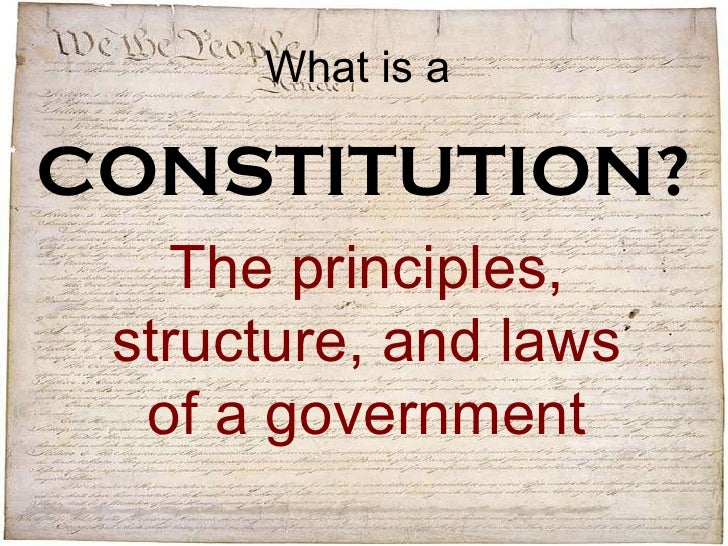 a analysis of the structure of the constitution The federalist papers summary and analysis of under the constitution society is divided into many but also on the particular sociological structure of.