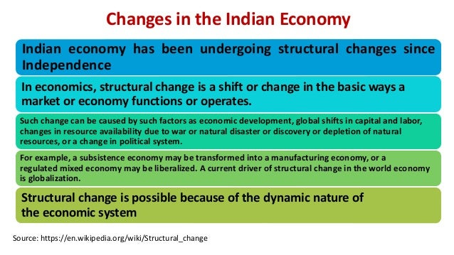 Structure of the Economy, Inflation and GDP Slide 3