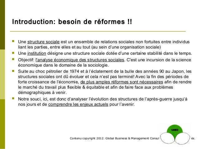 GBMC Presentation - Les Structures Sociales du Japon - Philippe Huysveld Slide 3