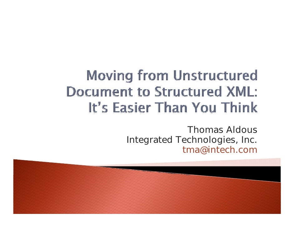 Thomas Aldous              Th      Ald Integrated Technologies, Inc.             tma@intech.com