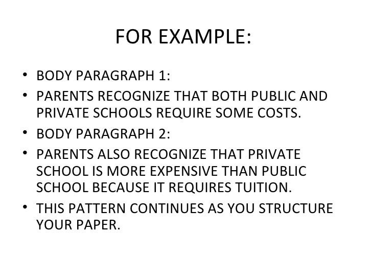 homeschool vs public school essay conclusion