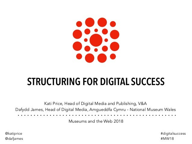 STRUCTURING FOR DIGITAL SUCCESS Kati Price, Head of Digital Media and Publishing, V&A Dafydd James, Head of Digital Media,...