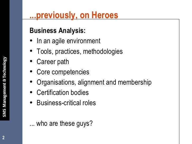 Struggling to define the ba role july 2008 v2 Slide 2