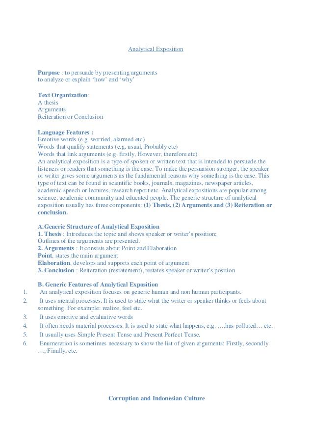 Contoh Thesis Argument Recommendation Download Semua Jenis Texts