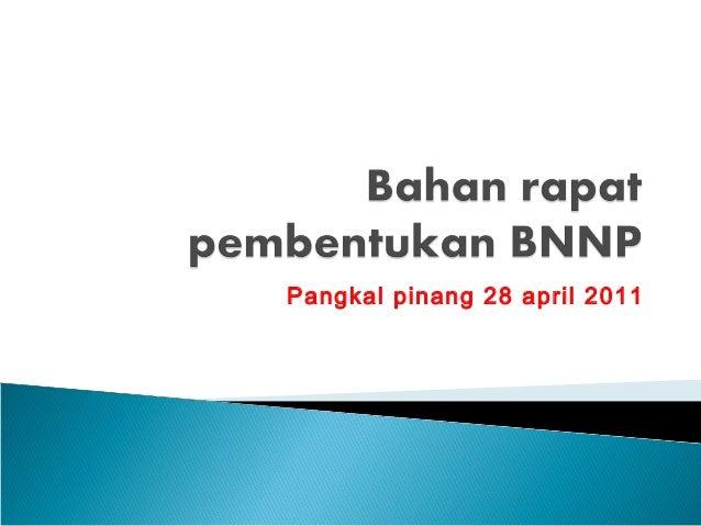 Pangkal pinang 28 april 2011