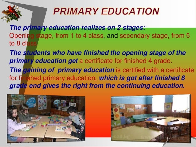 Secondary education is gaining after a successfully finished 12 grade, and taken school leaving examinations and it is ce...
