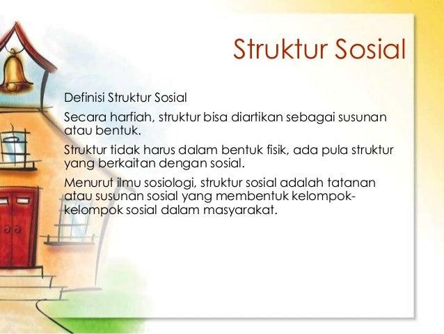 Struktur Sosial Budaya