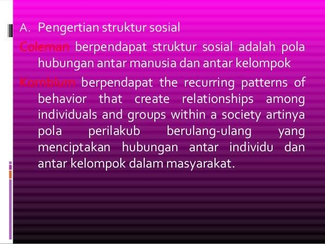 Struktur sosial materi_4 Slide 2