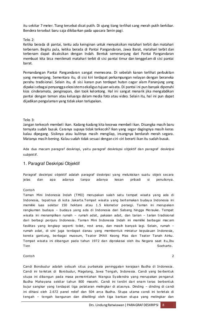 Contoh Teks Deskripsi Tentang Tempat Wisata Di Indonesia Ancora