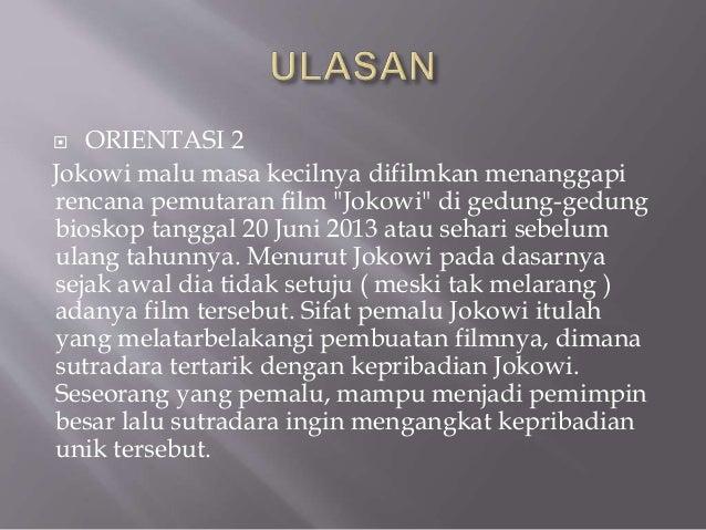 Struktur Teks Ulasan Film Jokowi