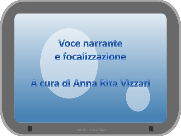 A cura di Anna Rita Vizzari