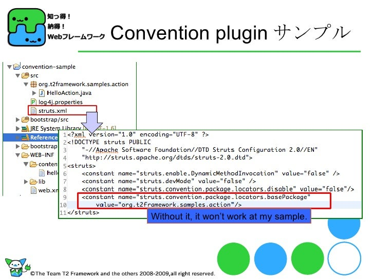 Convention plugin サンプル Without it, it won't work at my sample.