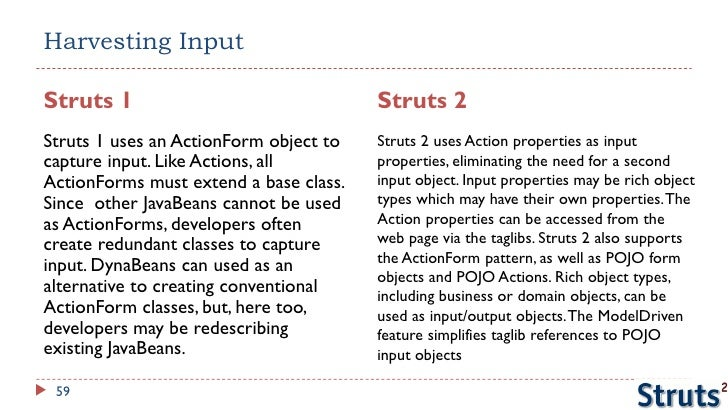 Struts 2 framework tutorial session 1 introduction to struts 2.
