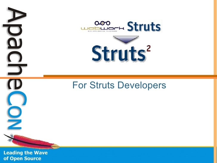 For Struts Developers