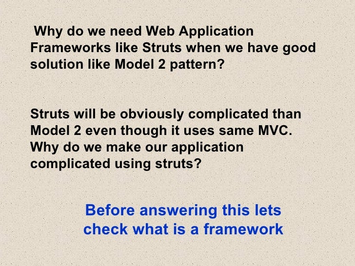 Struts 2 overview for Struts 2 architecture