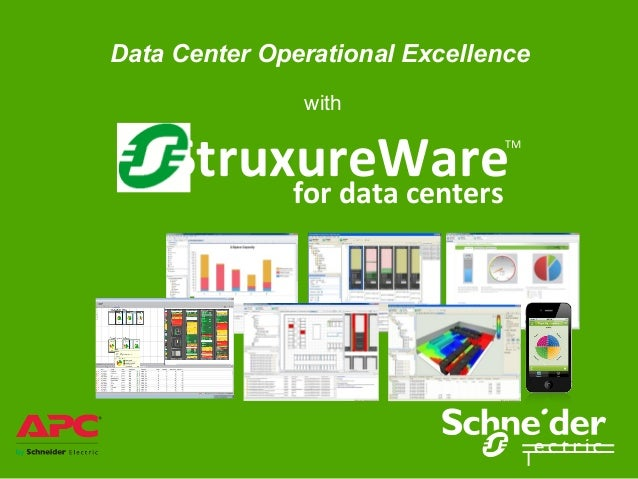 Data Center Operational Excellence               with    StruxureWare         for data centers                            ...