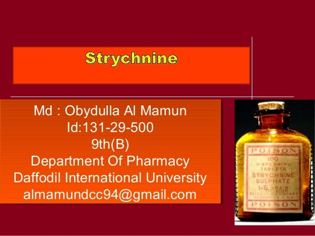Md : Obydulla Al Mamun Id:131-29-500 9th(B) Department Of Pharmacy Daffodil International University almamundcc94@gmail.co...
