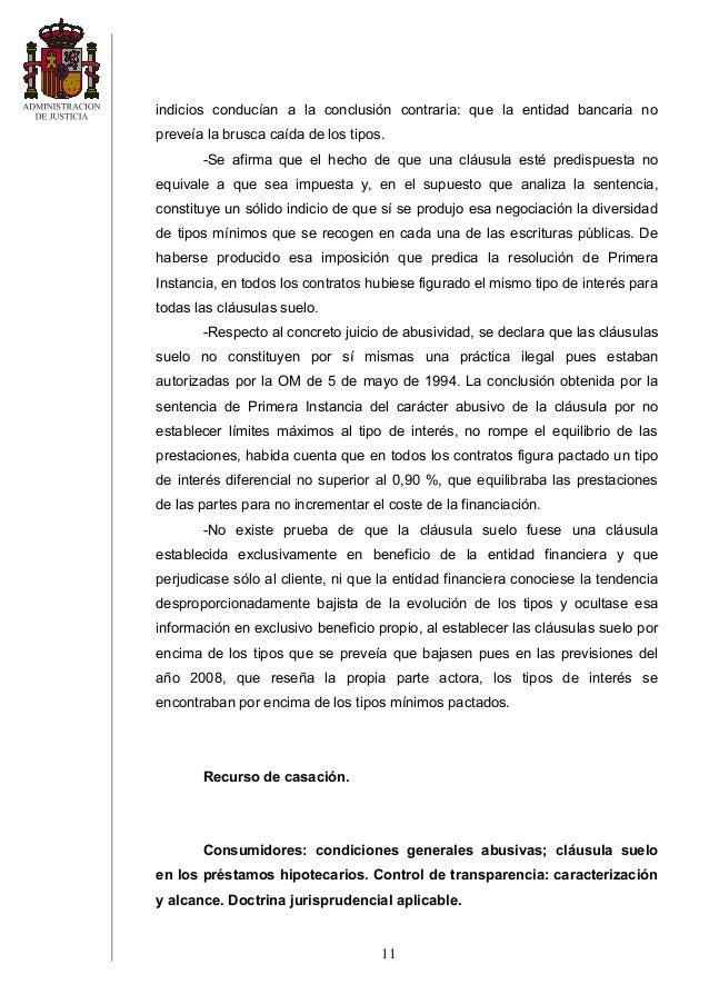 Sts 8 sept 2014 clc3a1usula suelo caja segovia for Comprobar clausula suelo