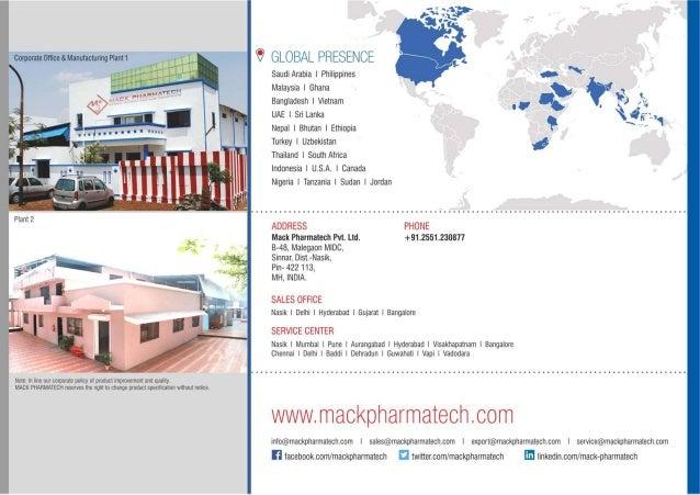 Pharma Lab Equipments By Mack Pharmatech Private Limited