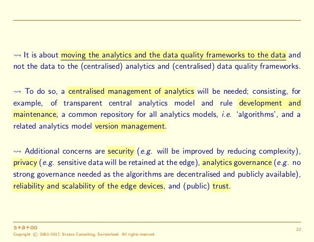 4. Challenges and key issues for (official) statistics • In a world of (big) data, IoT, AoT and also post-truth politics, th...