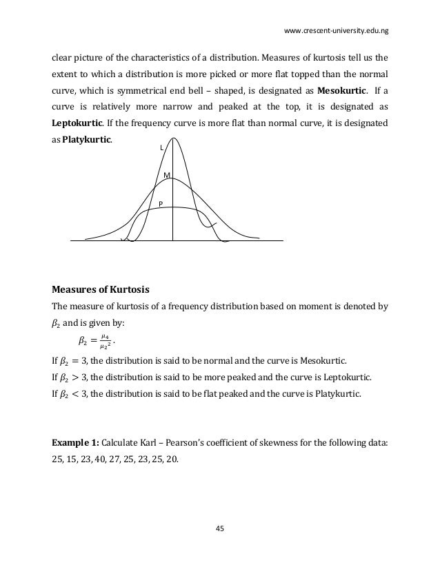 measures of central tendency lecture notes pdf