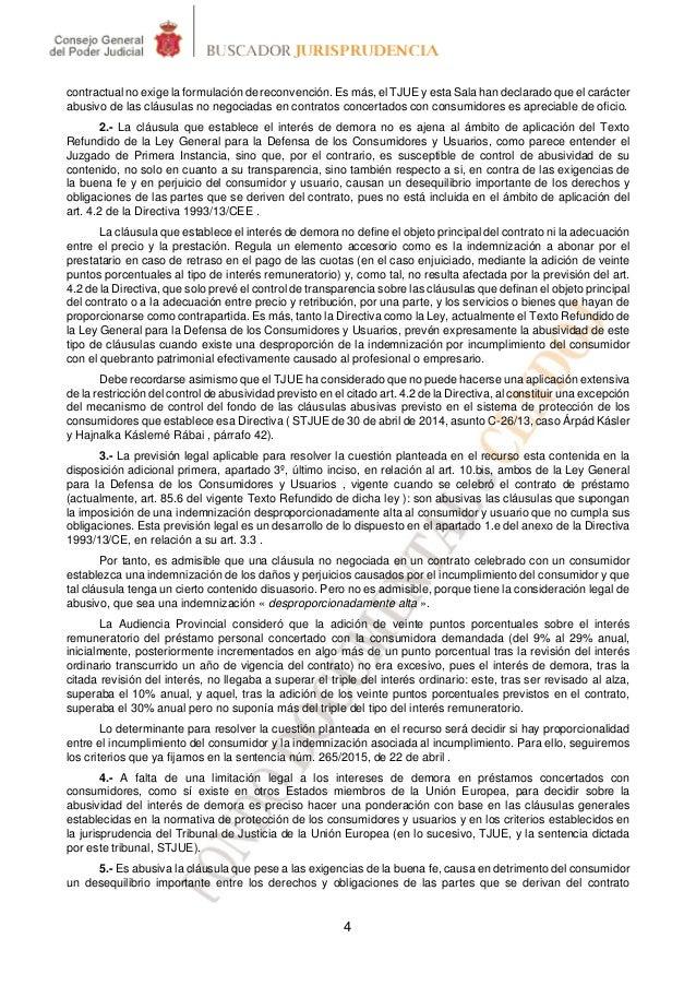 Tribunal supremo efectos de la nulidad de la cl usula de for Clausula suelo tribunal supremo hoy