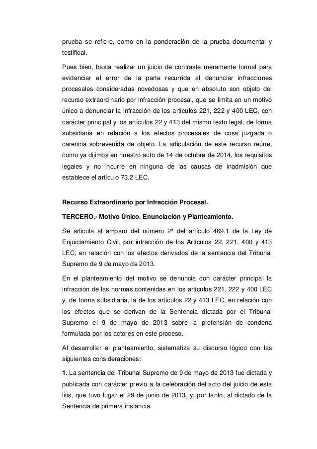 Sts clausula suelo 2015 for Denunciar clausula suelo