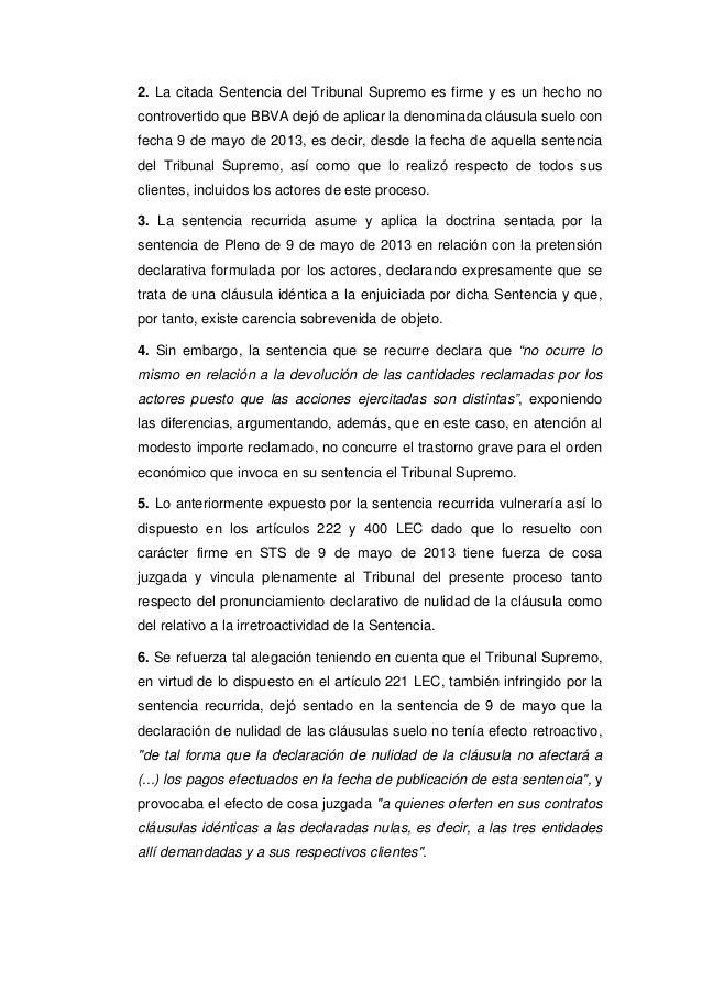 Sts clausula suelo 2015 for Clausula de suelo bbva