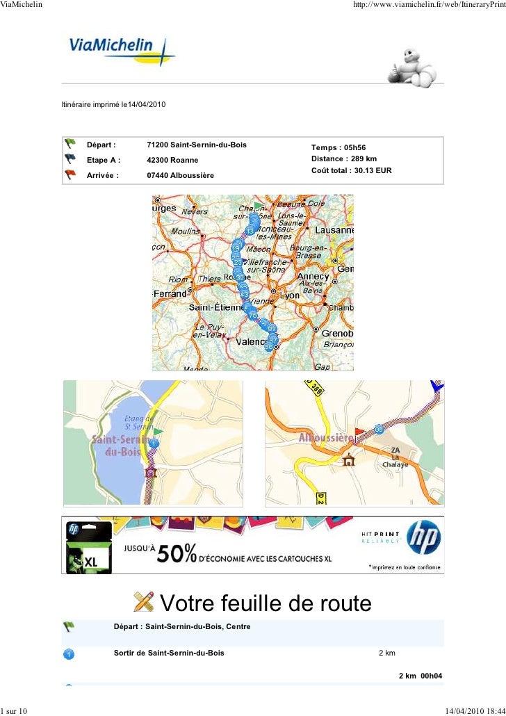 ViaMichelin                                                                     http://www.viamichelin.fr/web/ItineraryPri...