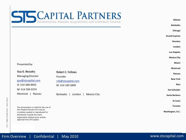 STS Capital Partners |                                                                                         Atlanta    ...