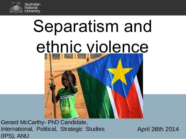 Racial separatism