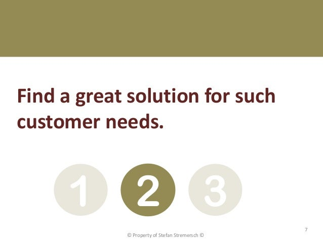 Find a great solution for suchcustomer needs.     1 2 3                                                7            © Prop...