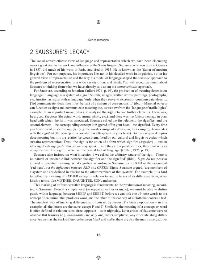 Representation And Men S Health Magazine: Stuart Hall Representation