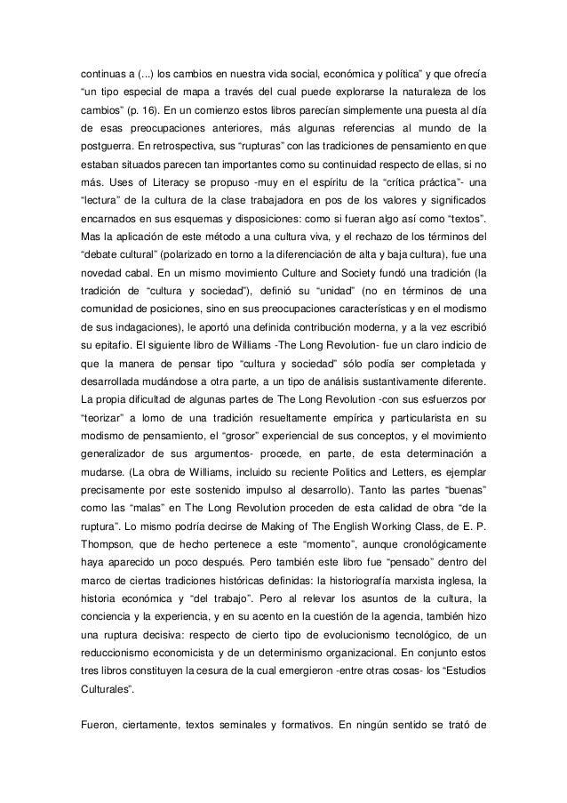 "Stuart hall estudios culturales  dos paradigmas* revista ""causas y azares"", nº 1, 1994 cultura : estudios culturales : estructuralismos : posmarxismo Slide 2"