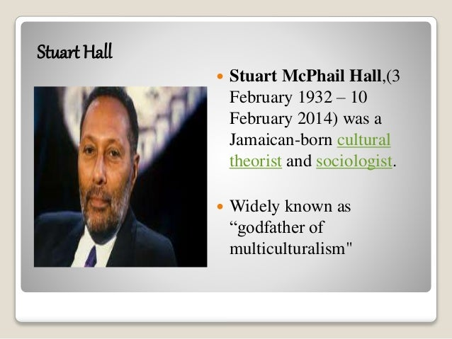 "stuart hall culture identity and diaspora The second of the two stuart hall articles i am summarizing, ""cultural identity and diaspora"" (1997) is the presentation of a discourse of culture about his own historical background the focus of this essay is the formation of identity within a historical and discursive framework."