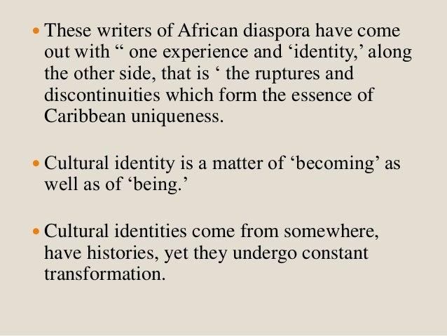stuart hall cultural identity and diaspora summary