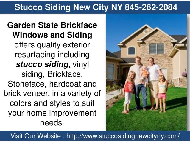 Stucco Siding New City NY 845 262 2084 Garden State Brickface Windows And  Siding ...