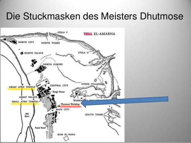 Stuckmasken der Amarna-Zeit als Bildhauerstudien Slide 3