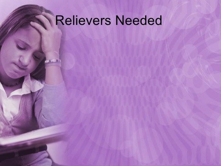 Relievers Needed