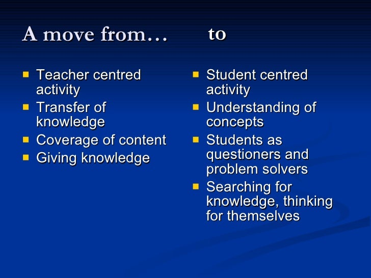 learning centered Learning objectives should be student-centered we, as instructors, often have a good idea of what we want to accomplish in a given course: we want to cover certain topics, or we want to teach students certain ideas and skills.