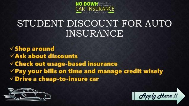 Good Discount on Student Auto Insurance, Get Student Car Insurance Di\u2026