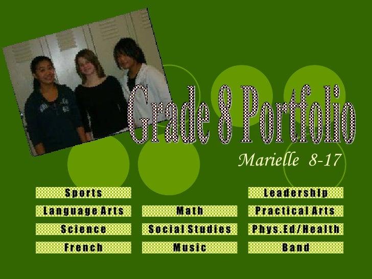 Student Electronic Portfolio