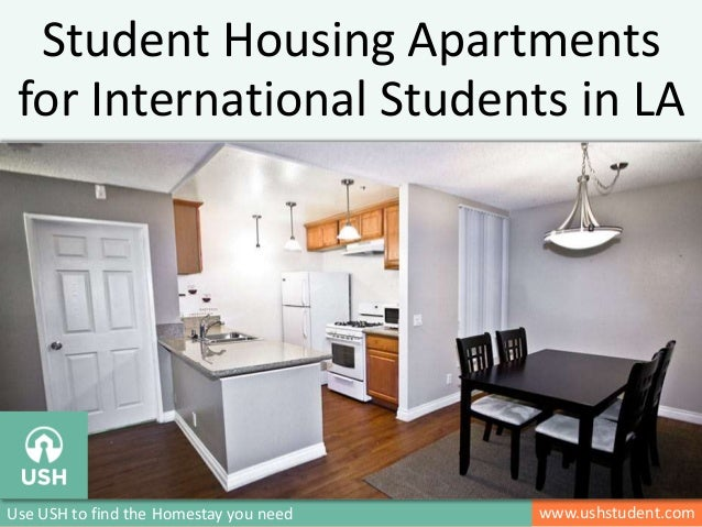 v www.ushstudent.comUse USH to find the Homestay you need Student Housing Apartments for International Students in LA